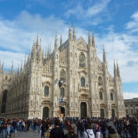 Cathedral Church in Milan Italy