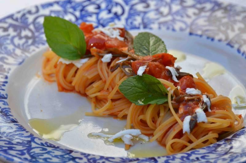 Kitchen Spaghetti pasta