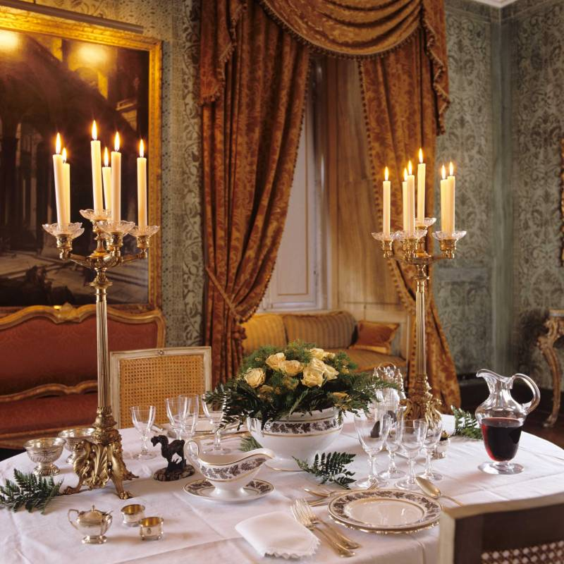 Residenza Napoleone Suite Dining Room