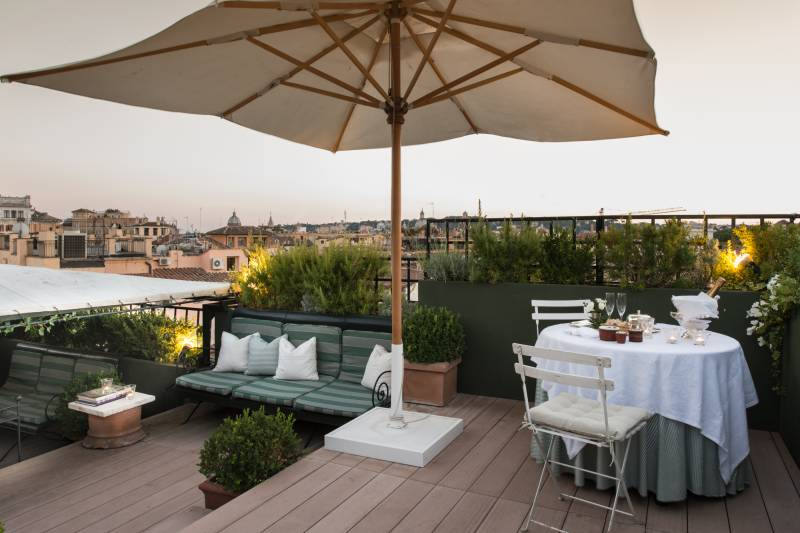 Roof Garden Suite Terrace