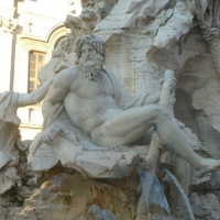 Fountains in Rome