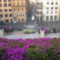 Spanish Steps in Rome in Spring