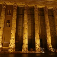 Walking Rome's Streets at night
