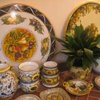 Bright Tuscan Ceramics Italy