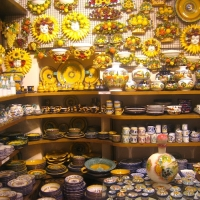 Ceramics in Tuscany Italy
