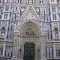 Duomo in Piazza Duomo Florence Italy