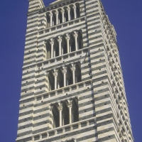 Giottos Bell Tower to the top of the Duomo Florence Italy