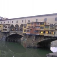 Ponte Vecchio Bridge Florence Italy