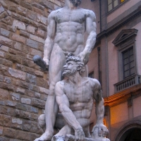 Statues in Florence, Tuscany Italy