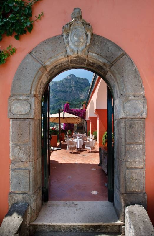 Traditional historical villa