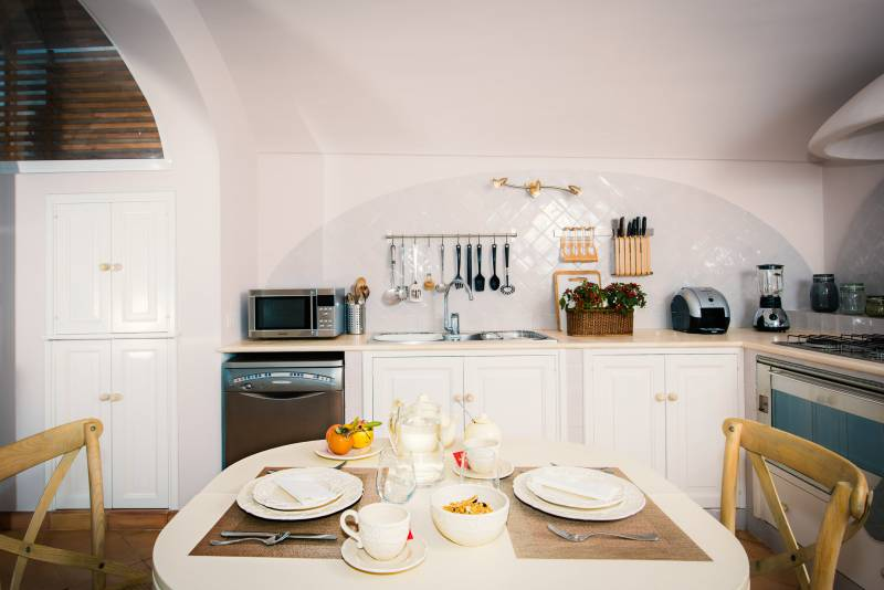 Villa Nuvolari - Private apartment for 2 kitchen
