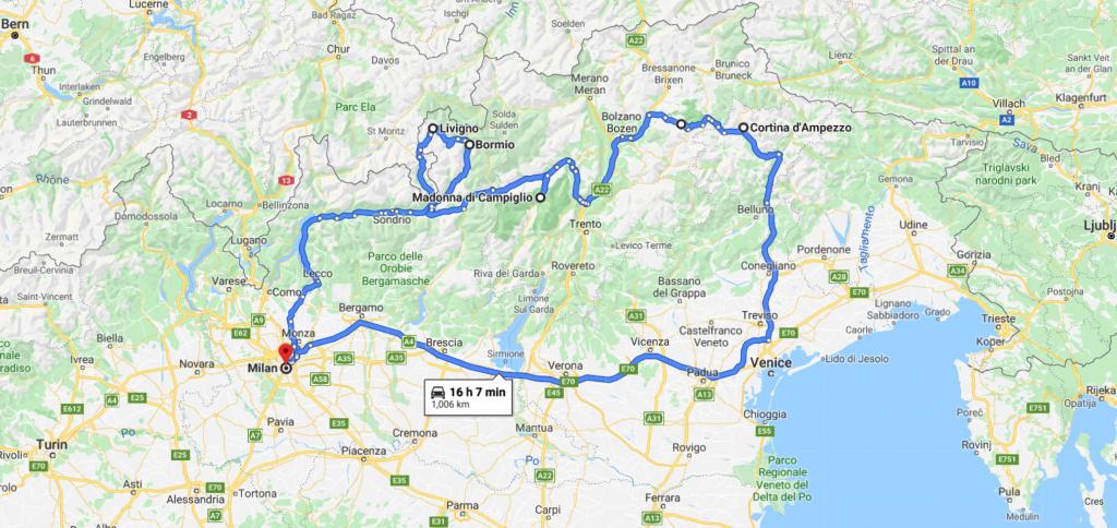 2020 Italian Alps Tour