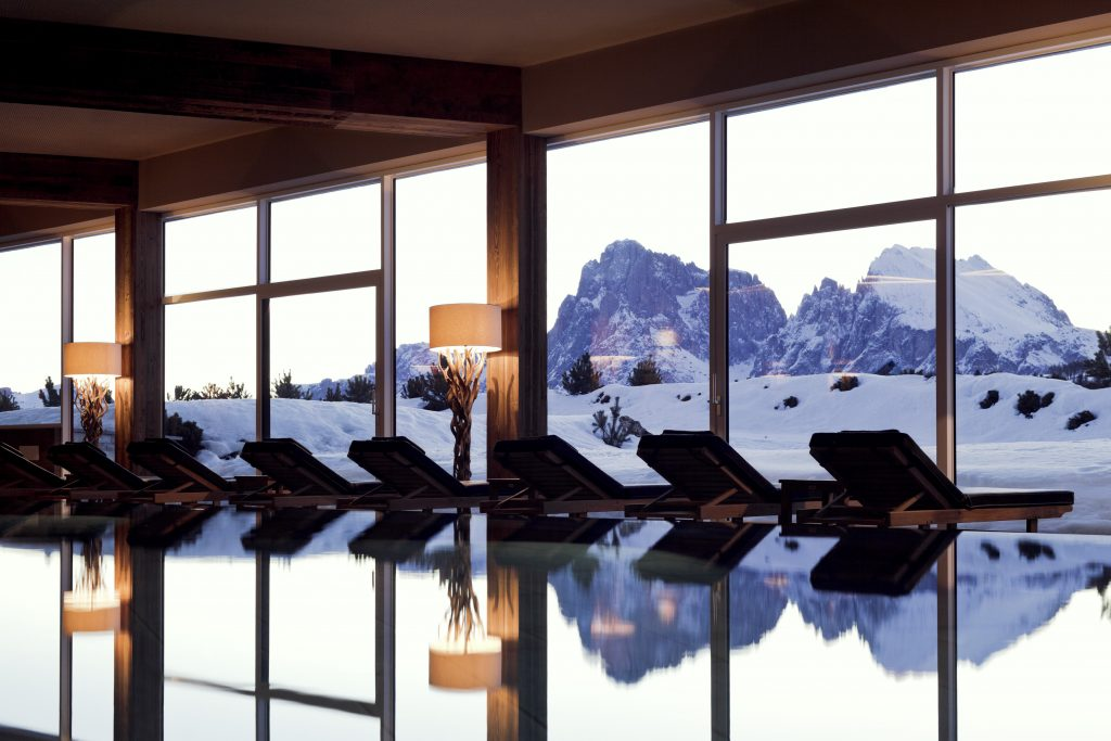 Gaze at the marvel from Alpina Dolomites - Luxury Winter Escapes