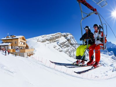 Private Ski Safaris Dolomites Mountains Italy