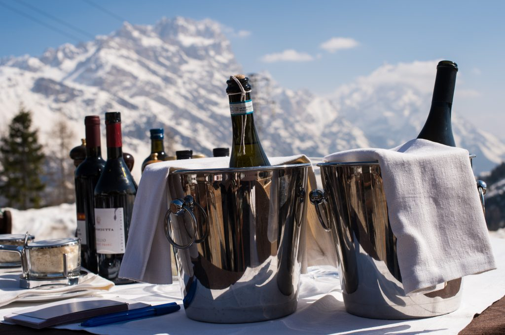 Gourmet Ski Safaris in the Dolomites