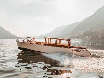 Ernesto Riva Vaporina - Luxury Boat Charters Lake Como