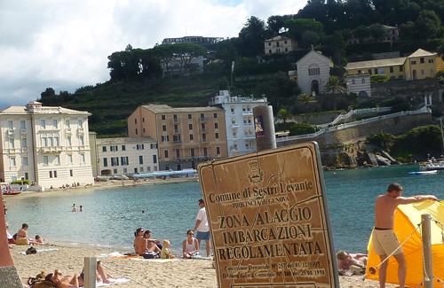Sestri levante Italian Riviera