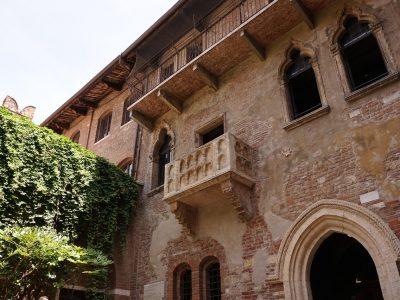Romeo and Juliets house Verona