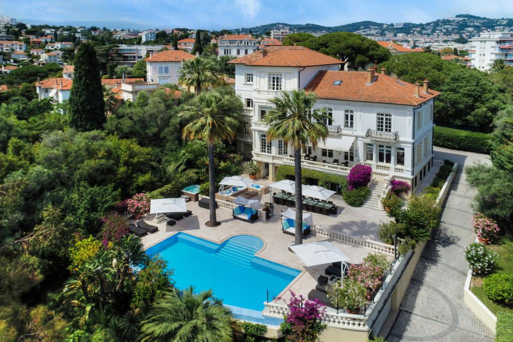Family Villa Cannes, on the French Riviera