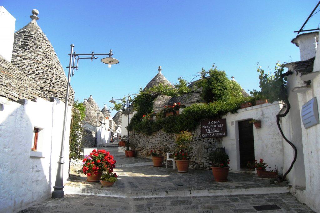 Trulli houses in Alberobello, Puglia