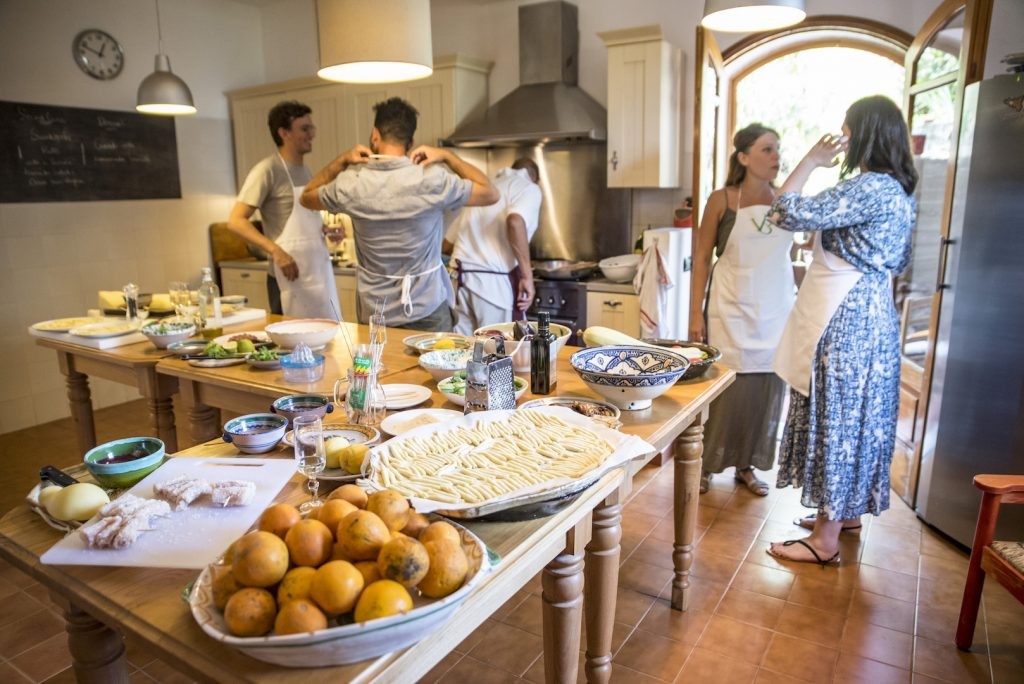 Private cooking class in Taormina Sicily