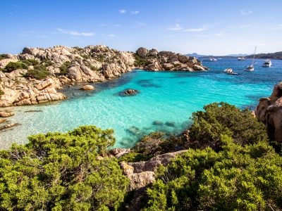 Beaches in Sardinia, Italy